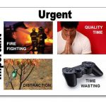 urgency and importance time management matrix