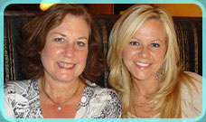 Sarah Fairless Robbins and Kathy Paauw