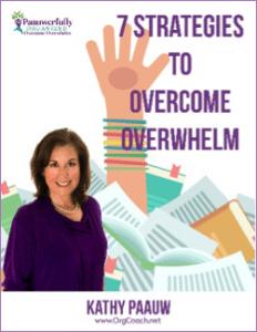 7 strategies to overcome overwhelm